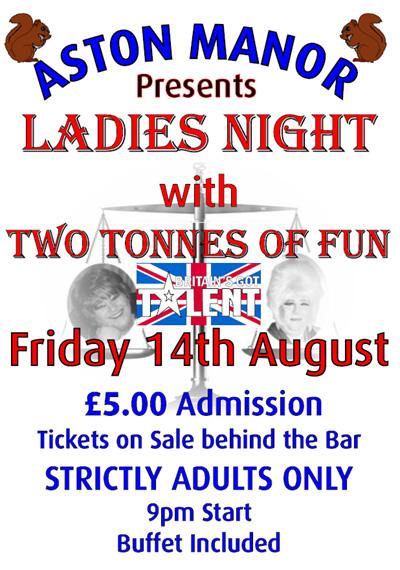 Aston Manor Ladies Night